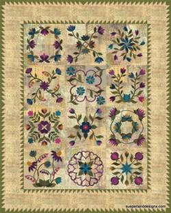Block of the Month quilt in EQ8