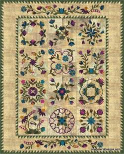 My Magical Garden Quilt Along