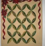 Use the Grande Leaves Galore to cut all the applique on this  quilt!