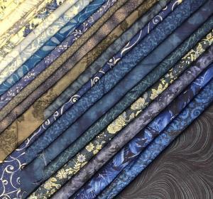Janie's fabric for Belle en Bleu