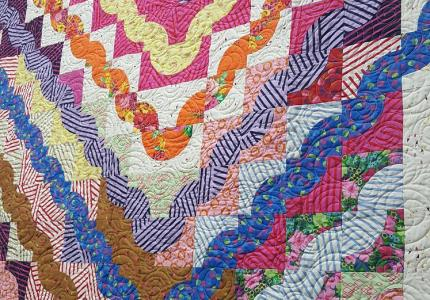 Come Together Raffle QUilt for ALS
