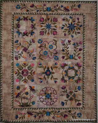 Sue's BOM quilt