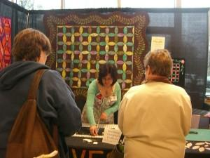 Demonstrating the Quilter