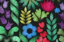 Eve's Garden pattern, detail
