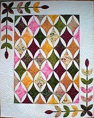 Hope's Diamond, A Leaves Galore Pattern