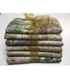 Tim Holtz 1/2 Yard Bundle, 6 pieces