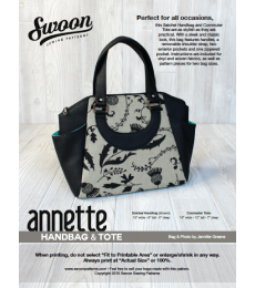Annette Satchel Handbag, Swoon Sewing Patterns