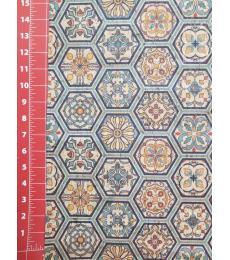 "Cork Fabric-Hexagon Tiles 18""x27"""