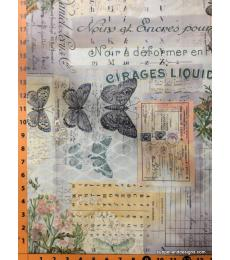 Tim Holtz fabric Botanical