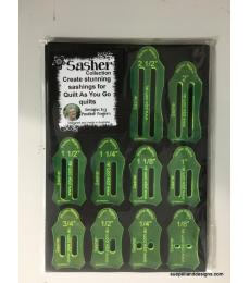 Quilt As You Go Set of 10 Sashers