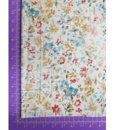 Tim Holtz fabric: one yard cut, Memoranda-From Camden
