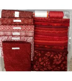 Belle en Rouge quilt along Kit