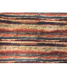 "Cork Fabric-Striped 18""x27"""