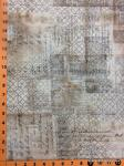 """Tim Holtz fabric: Ledger, Sold by the half yard, 18"""" x 44"""""""
