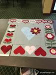 Carol in the Hearts and More Workshop with Quilts North