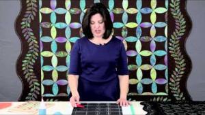 Sue Pelland Designs, Video 5 of 5, Marking Quilting Desings, Making Orange Peel Quilts