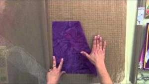 Sue Pelland Designs, Video 1 of 5, Applying Mistyfuse