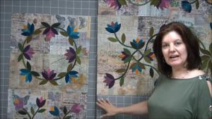 How to make a flannel covered design wall for quilting
